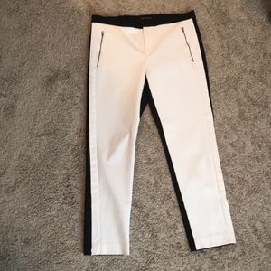 Color Block ankle pant